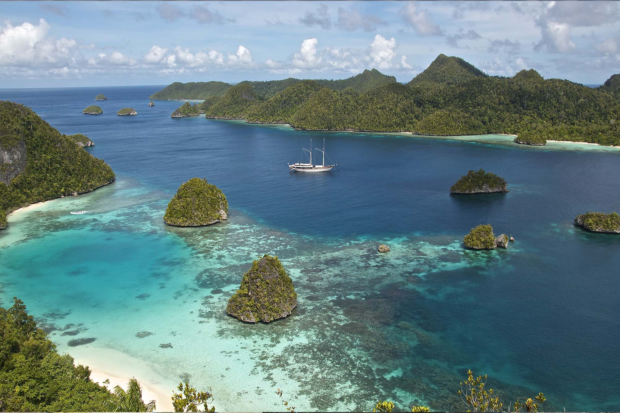 Yacht Zen is available for private luxury sailing charters to the most exotic Asia destinations, offering you the unique possibility to explore the stunning islands and coral of the South East Asia in adventurous luxury holidays.